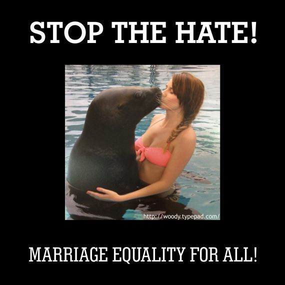 Stop The Hate, Marriage Equality For ALL!