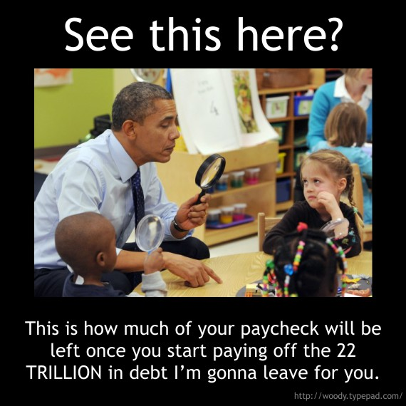 Obama And The Kindergartener